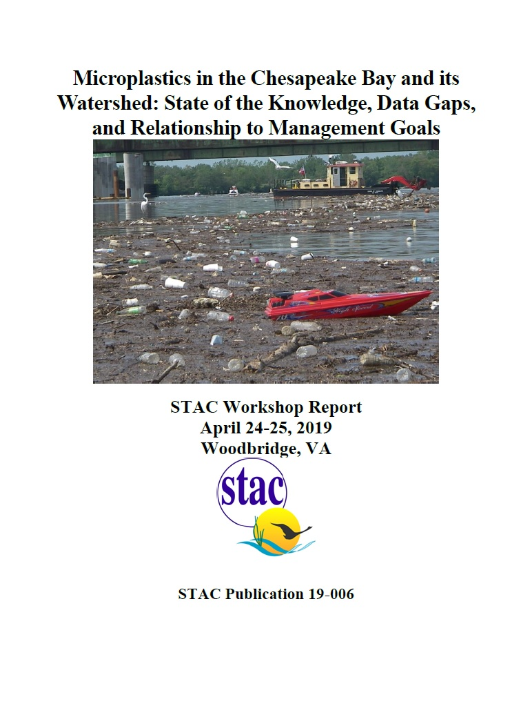 Cover Page_Microplastics in the Chesapeake Bay and its Watershed State of the Knowledge Data Gaps and Relationship to Management Goals.jpg