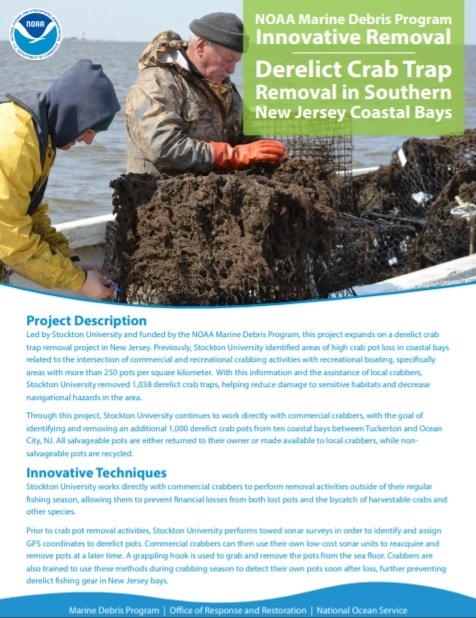 NOAA_Derelict Crab Trap Removal In Southern New Jersey Coastal Bays Cover Image.jpg